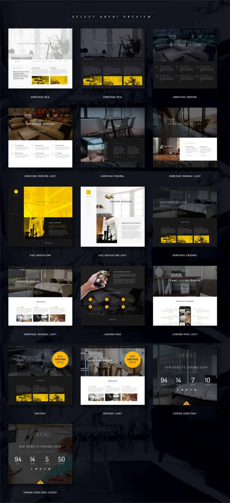 archi-interior-design-website-template