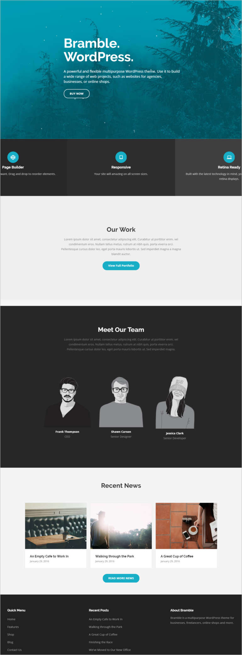 bramble-exclusive-wordpress-theme