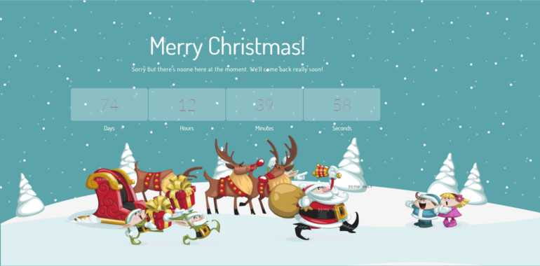 merry-christmas-illustrated-animated-less-theme