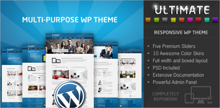 Ultimate Responsive Business WordPress Theme