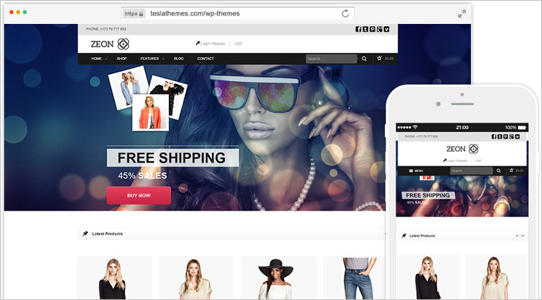 premium-ecommerce-wordpress-theme