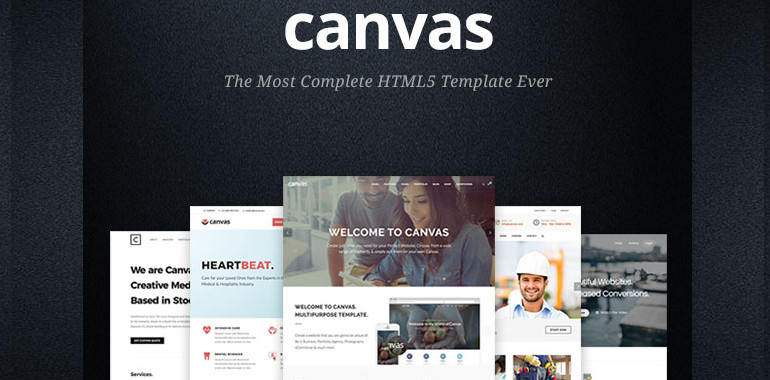 canvas-theme-and-template