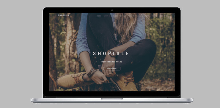 An awesome and modern theme for online shops