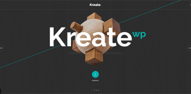 Creative Business theme and template