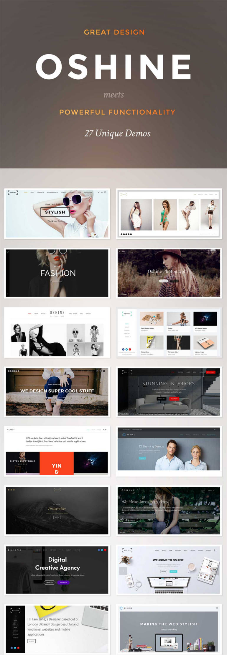 Creative Multi-Purpose WordPress Theme
