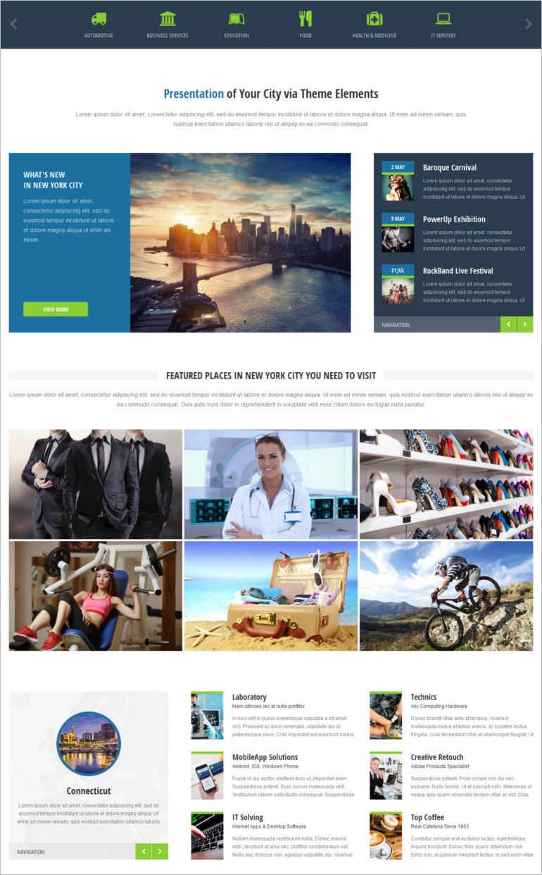 Directory & Listings wp theme