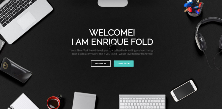 Enfold wordpress theme and template