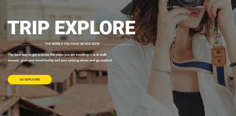 Exploore have full of features for a travel website