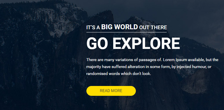 Exploration Booking HTML Template