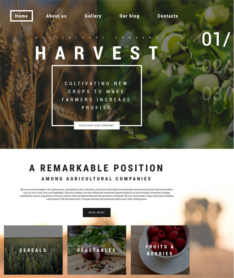 harvest-wordpress-theme-and-template
