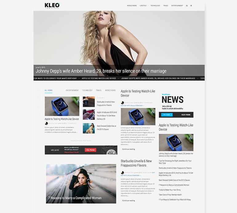 Multi-Purpose BuddyPress Theme