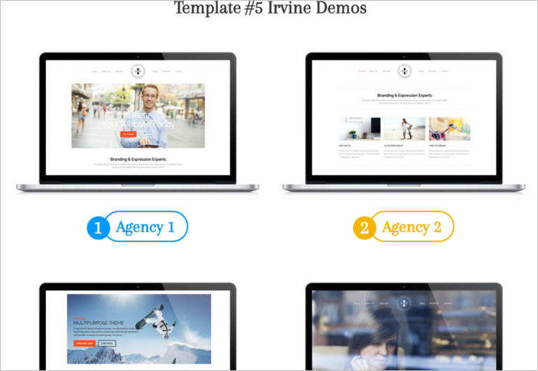 Multipurpose WordPress Theme and template