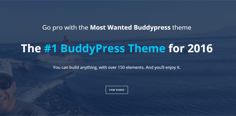 Pro Community Focused buddypress theme