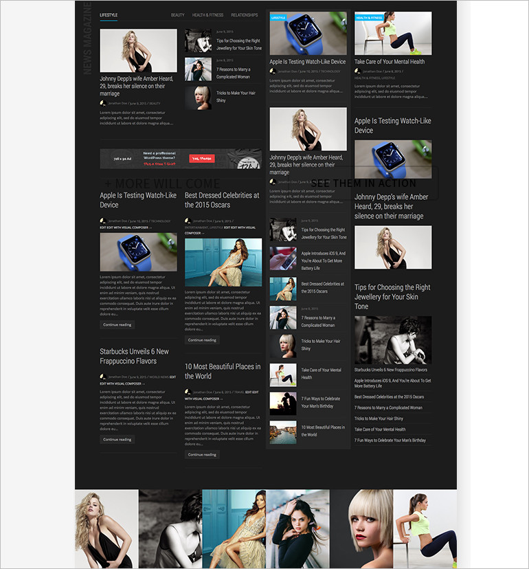 Pro Community Focused wordpress theme and template