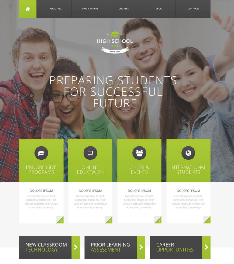 school-promotion-wordpress-theme