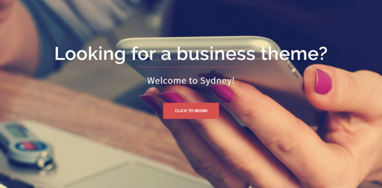 Sydney is a powerful business theme of all time