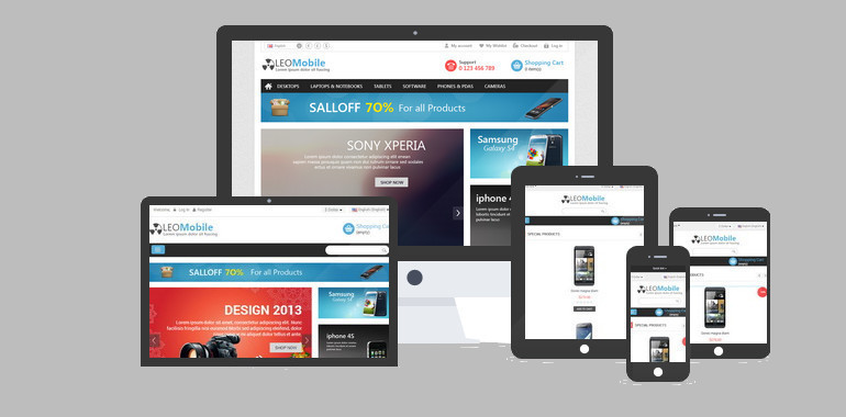 Leo Mobile Prestashop Theme and template
