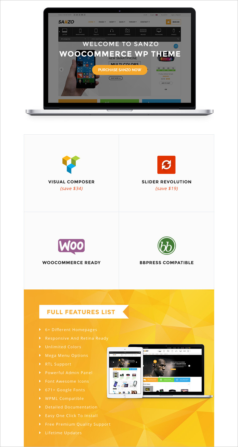 WooCommerce wordpress theme