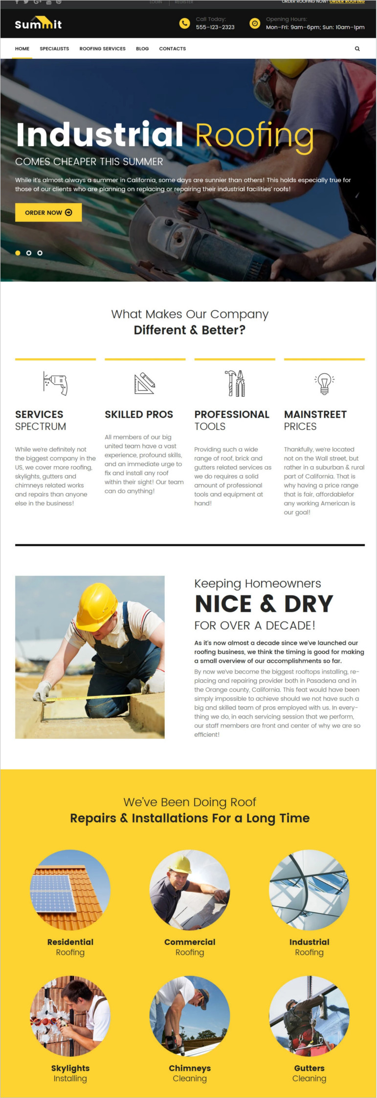 wordpress-theme-for-roofing-companies