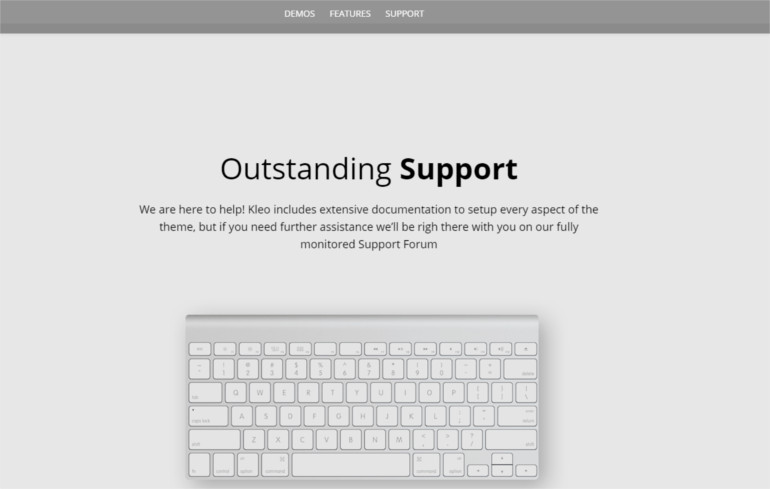 outstanding wordpress theme and template