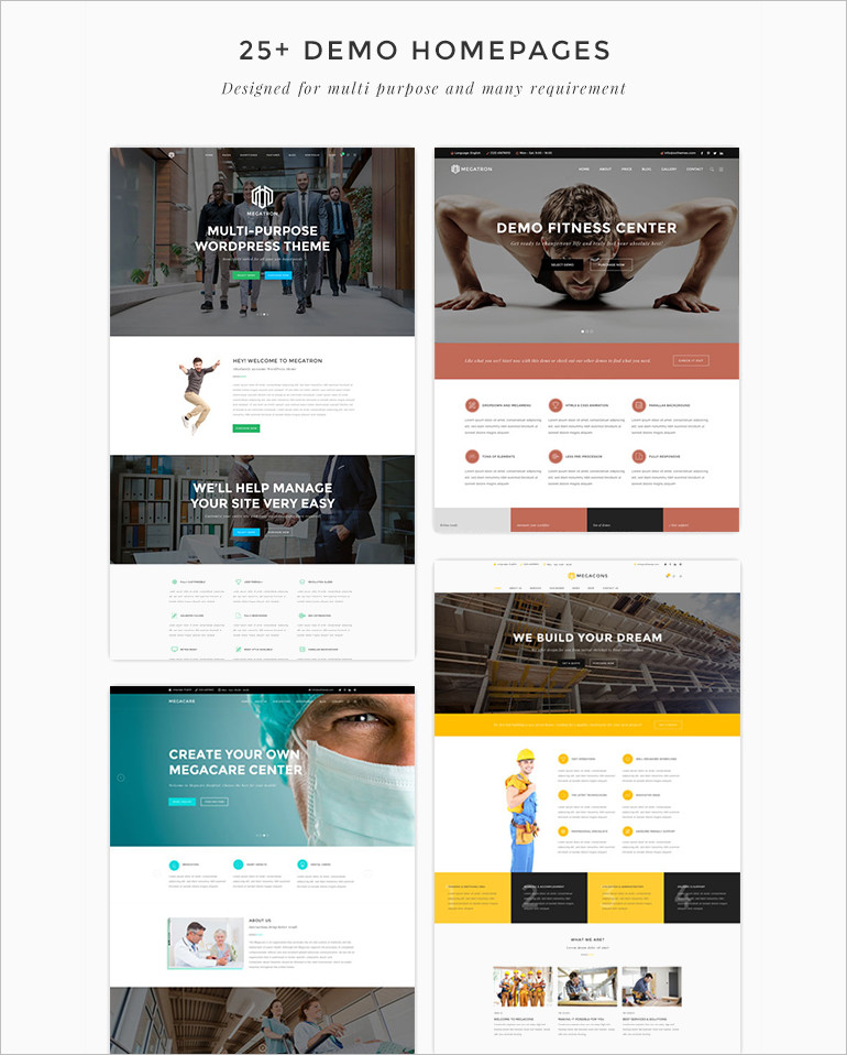 Business MultiPurpose WordPress Theme