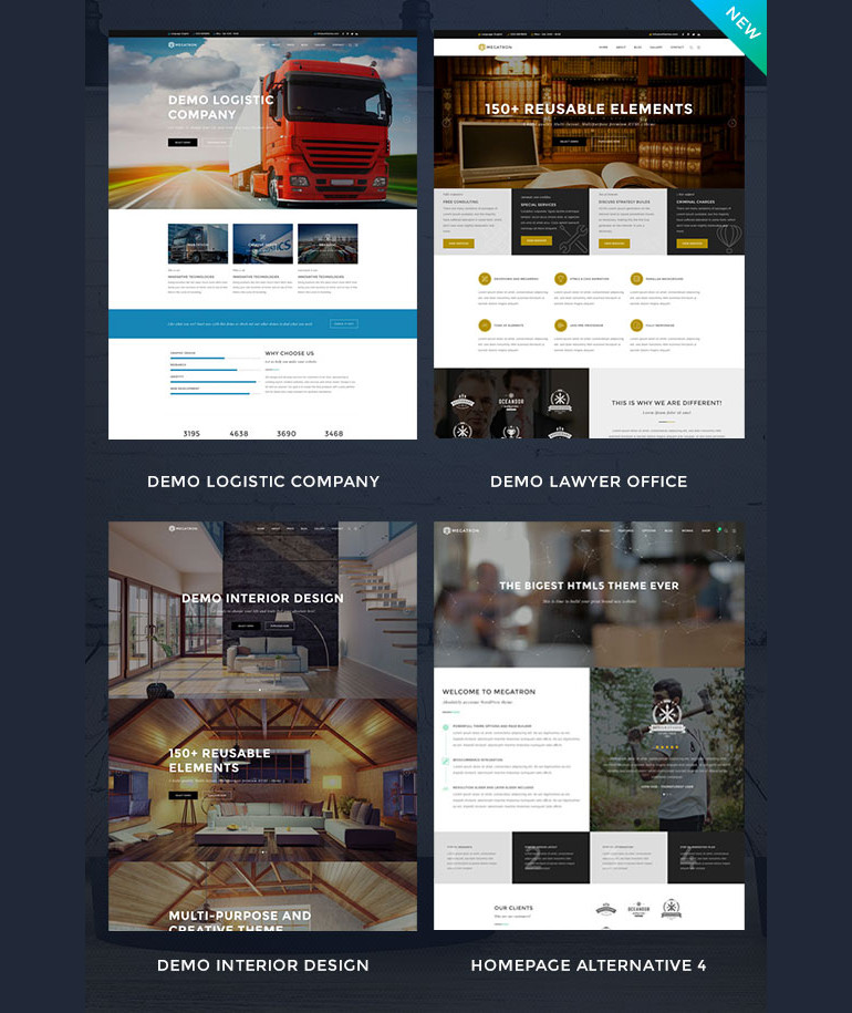 incredibly thorough Multipurpose WordPress theme