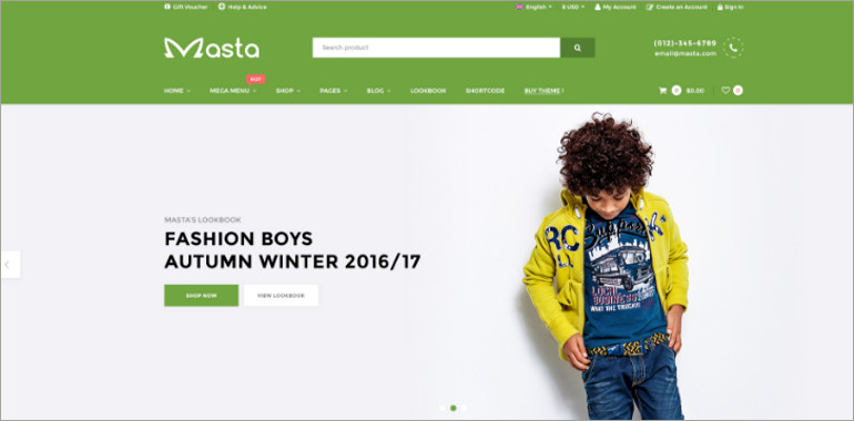 baby shop ecommerce theme