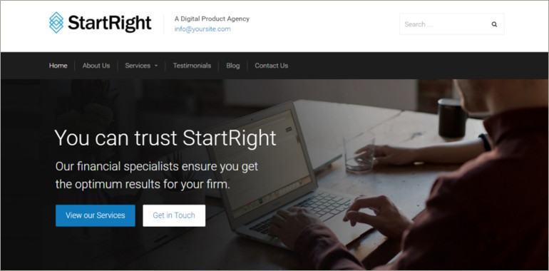 business agency wp theme