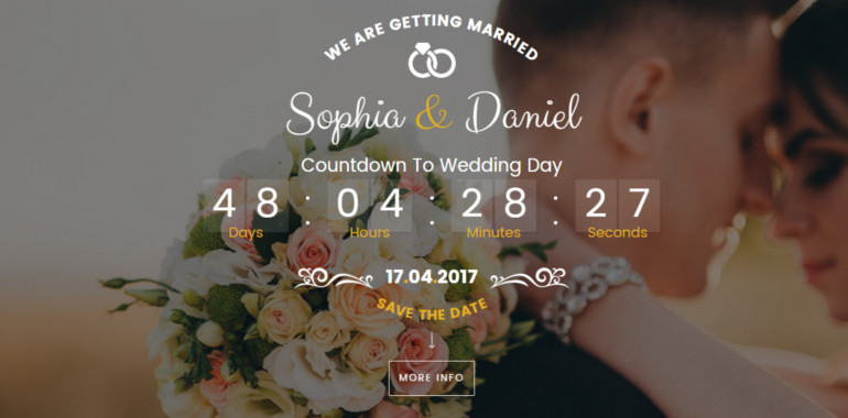 coming soon wedding template