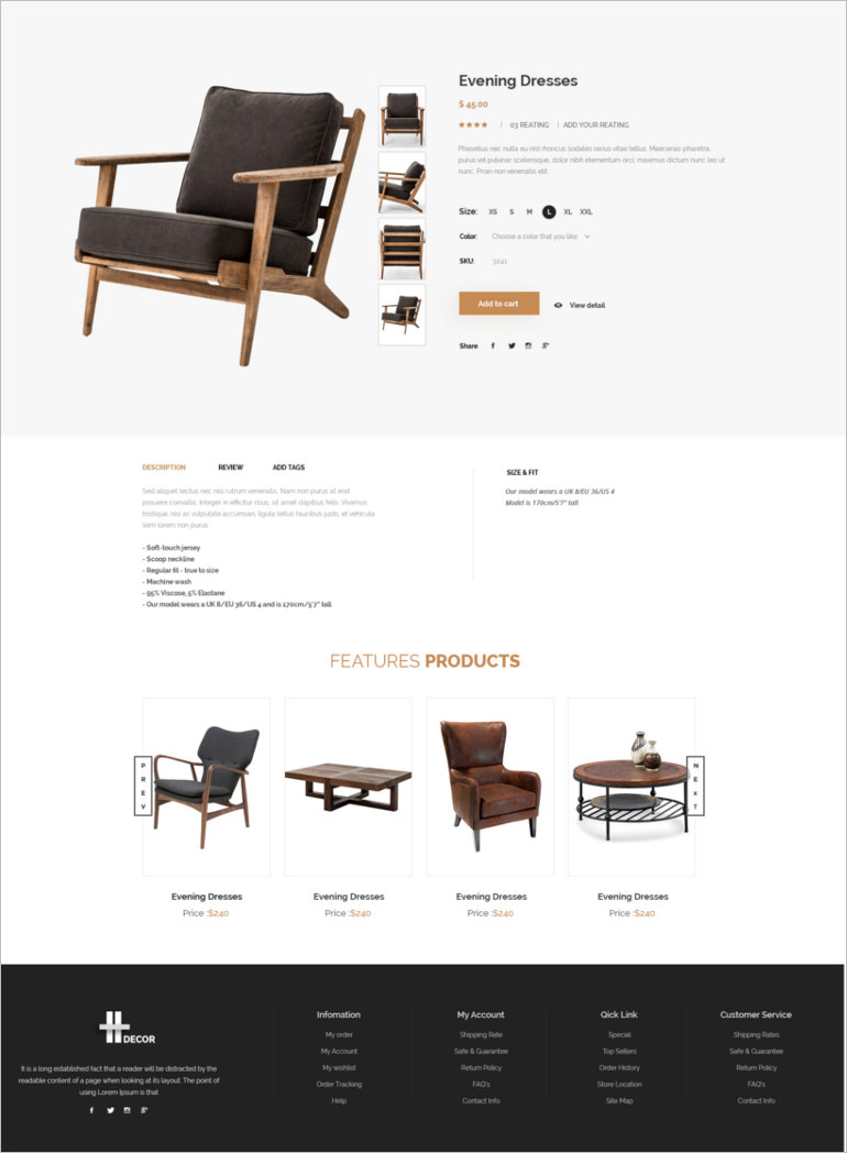 e commerce theme