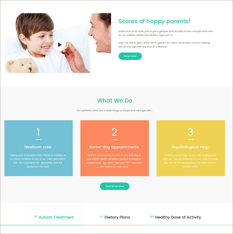 health clinic wp theme