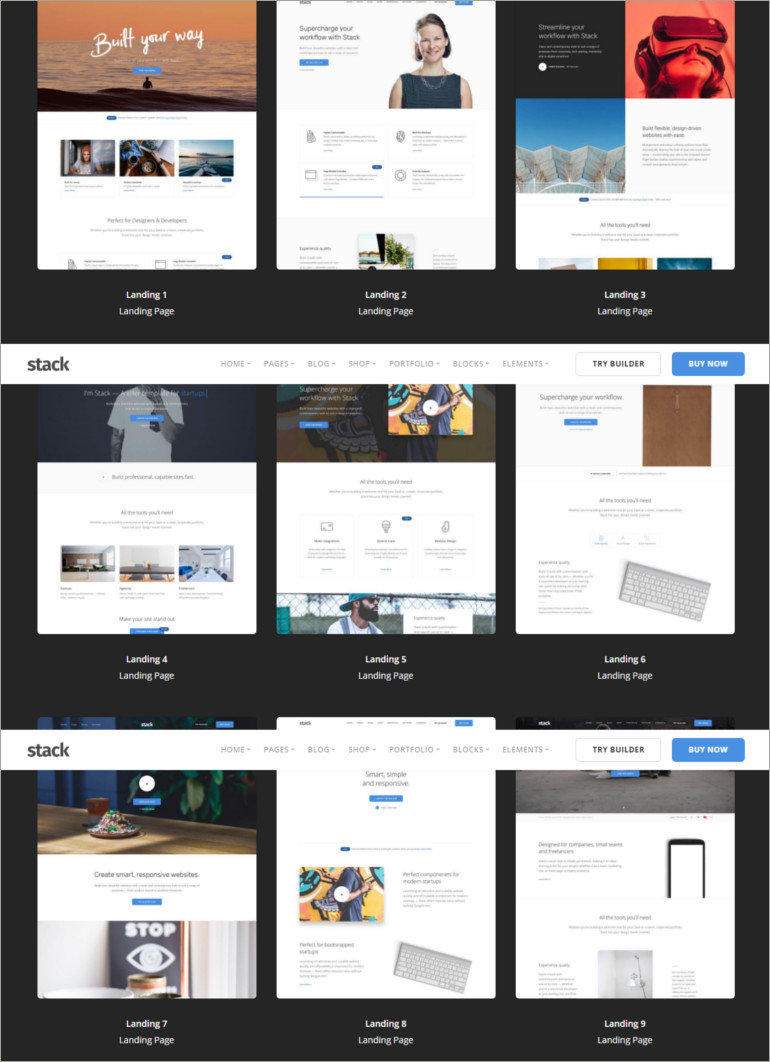 html site template