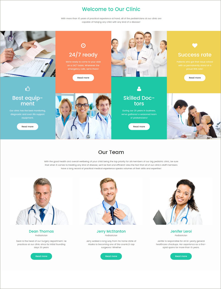 pediatrician template
