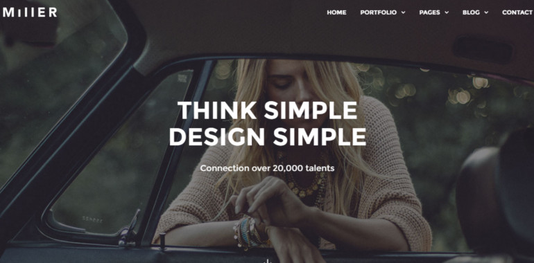 port folio wordpress theme