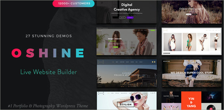 port folio wp theme