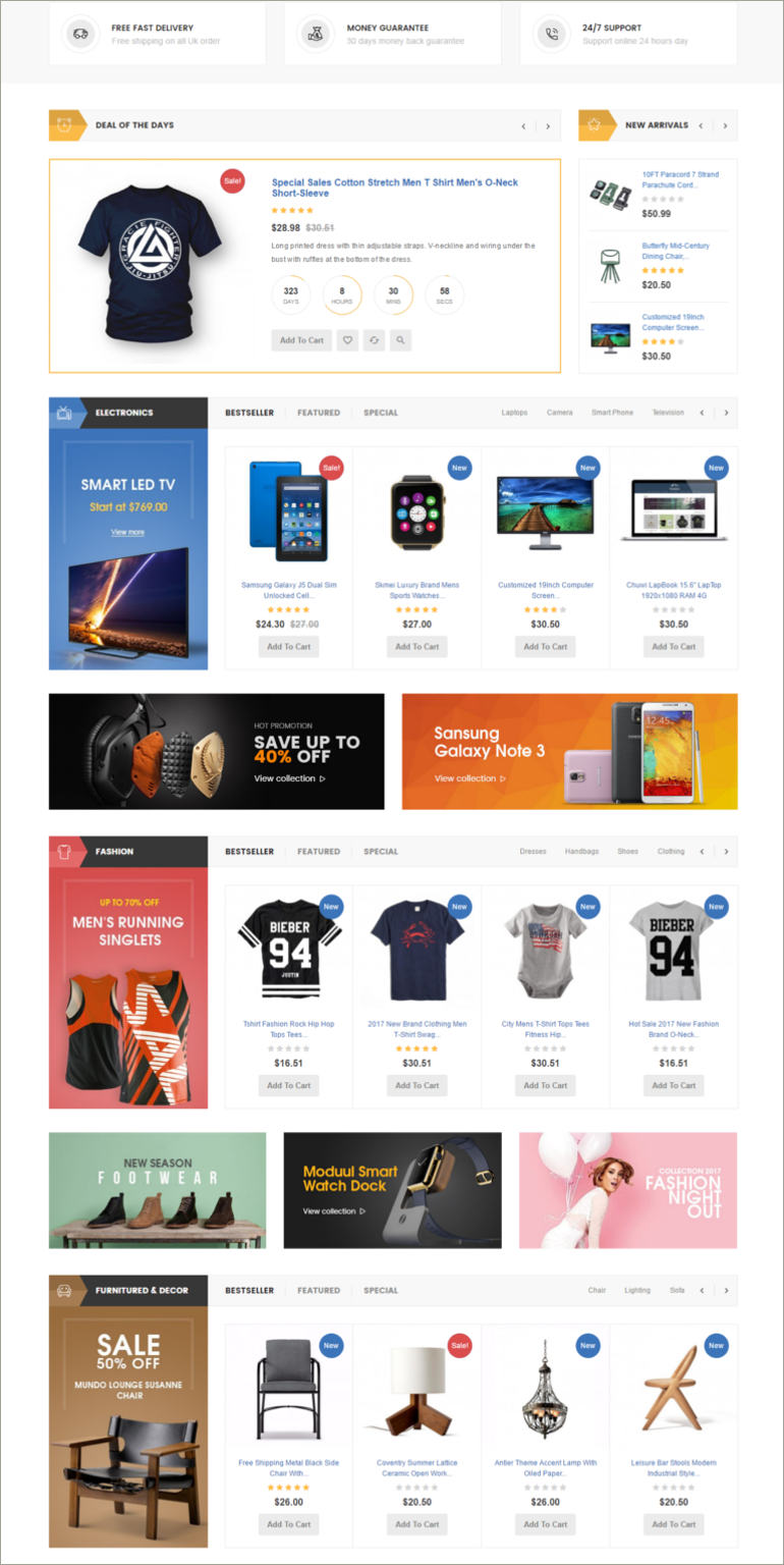 prestashop ecommerce theme