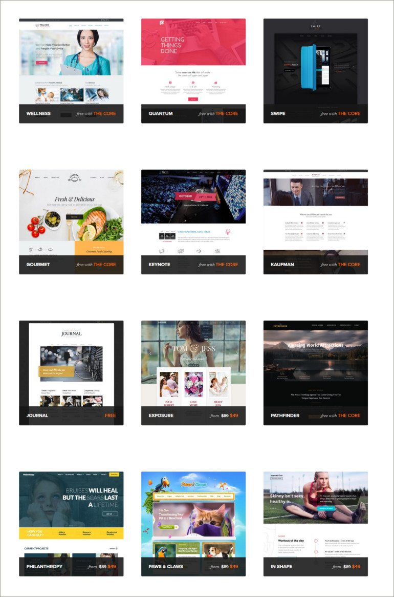 theme fuse wordpress themes