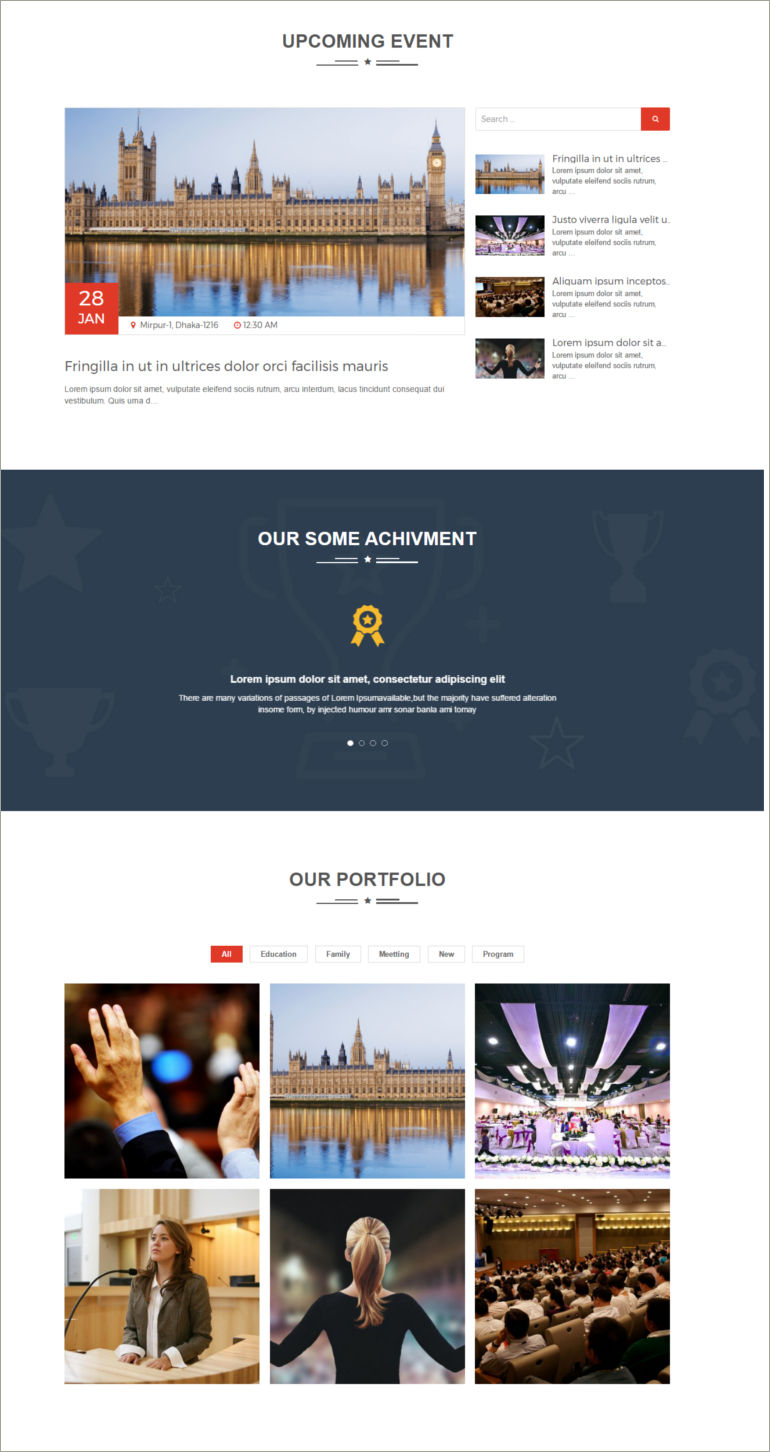wordpress political theme
