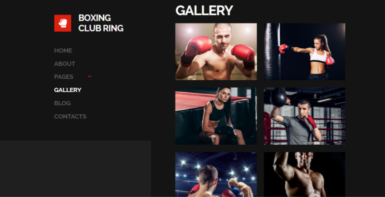 boxing club gallery