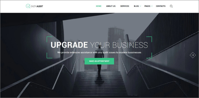 business consulting theme