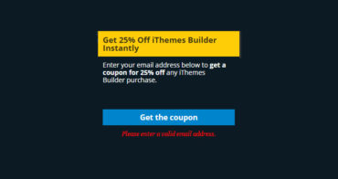 get 25 discount on ithemes