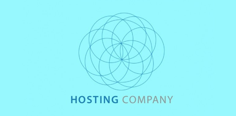 hosting company vector