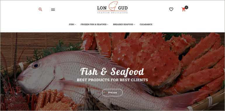 sea food magnato theme