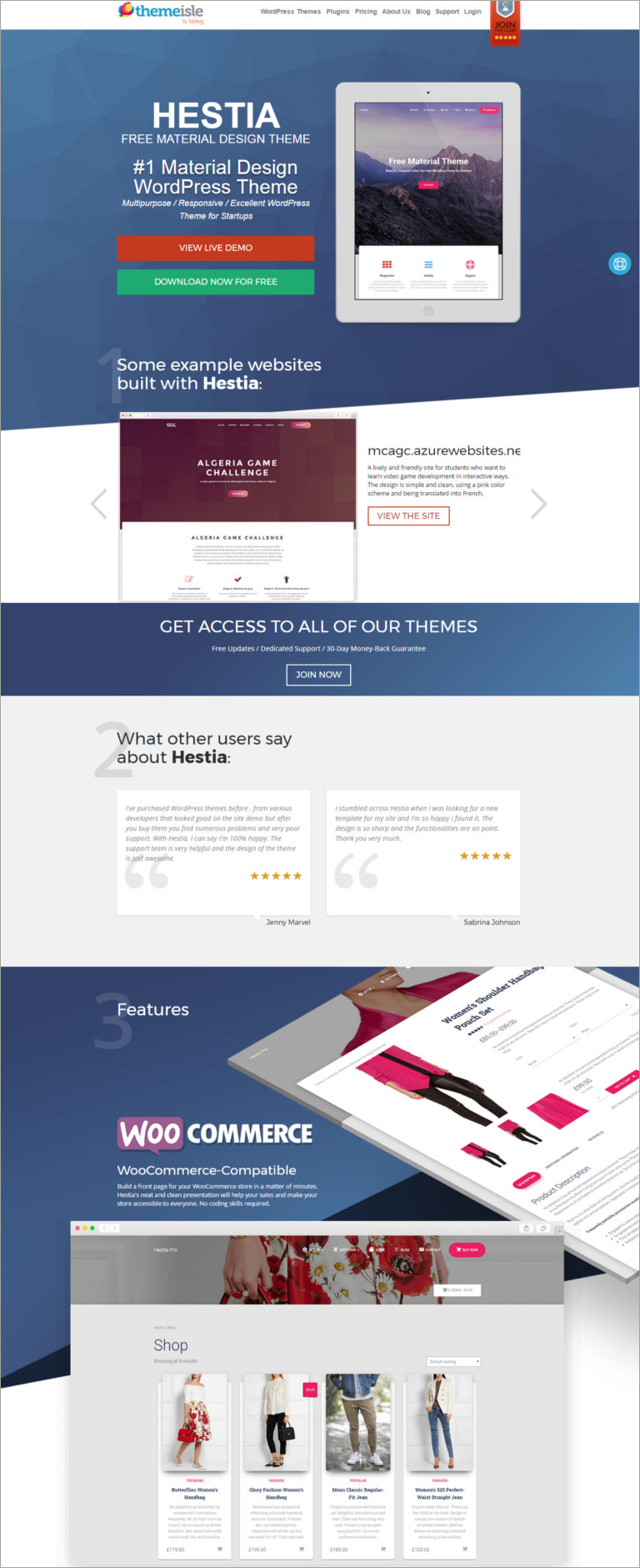 themsile wordpress theme