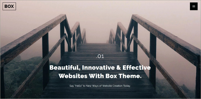 webdesiging wordpress theme