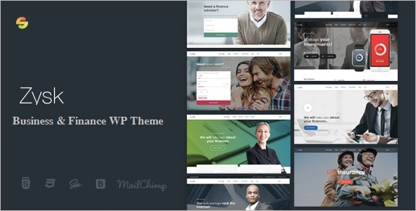 Advisior WordPress Theme