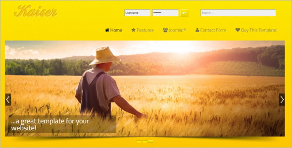 Agriculture Joomla Free Template