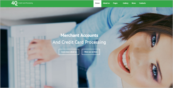 Bank Joomla Template