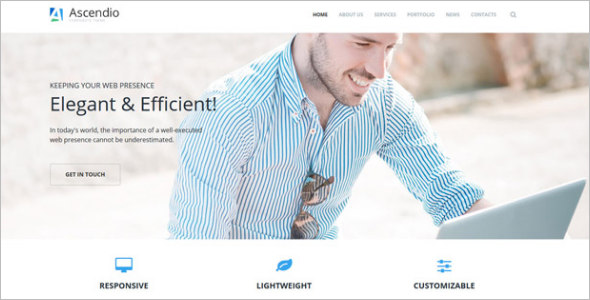 Business & Corporate Drupal Template