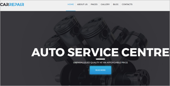 Car Services Joomla Template